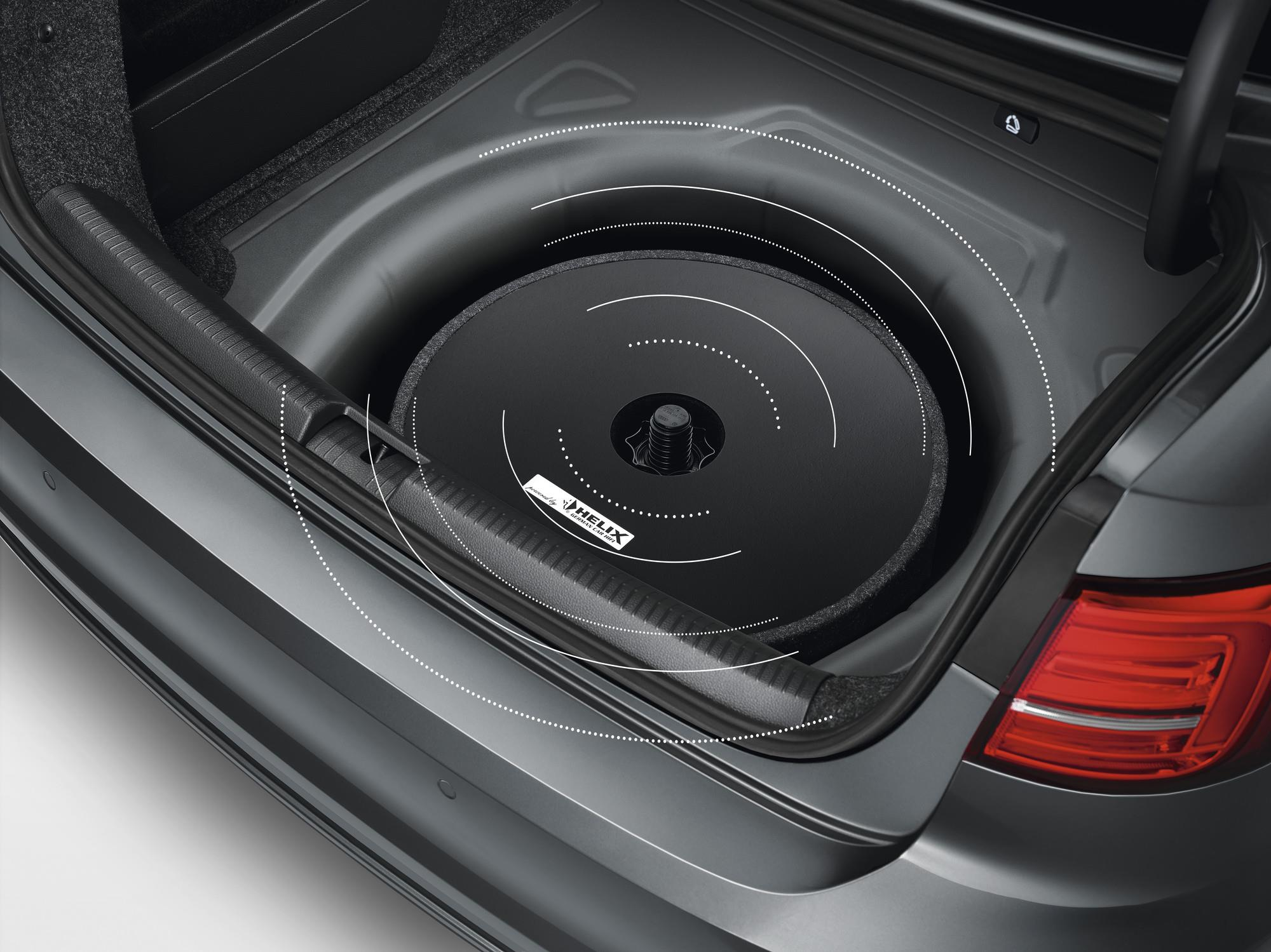 2018 Volkswagen Tiguan Spare Tire Mount Subwoofer