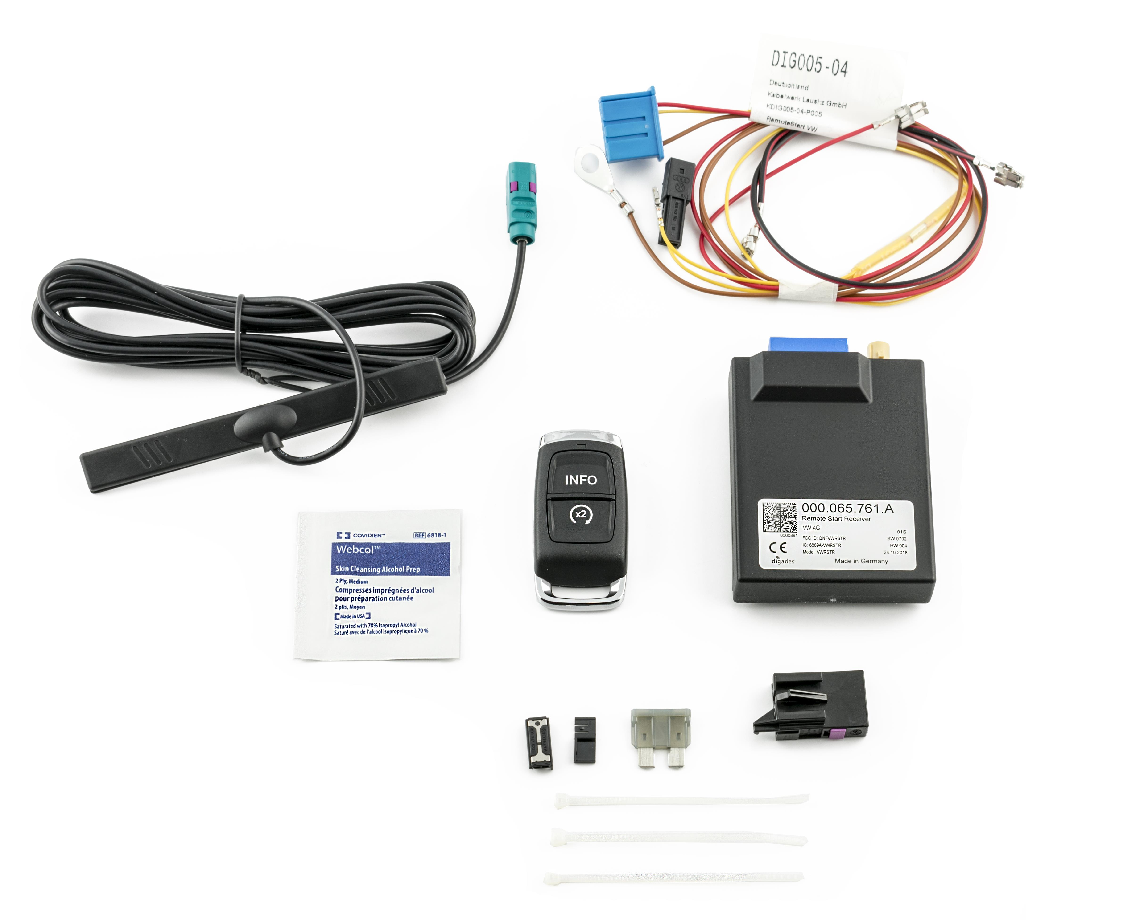 Volkswagen Atlas Remote Start Kit
